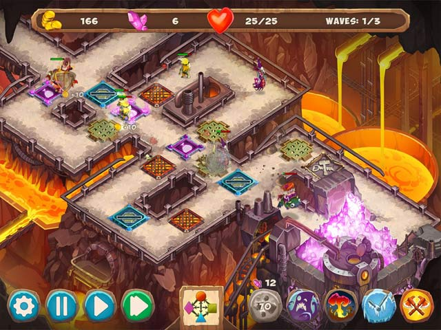 Spiele Screenshot 1 Gnumz 2: Arcane Power