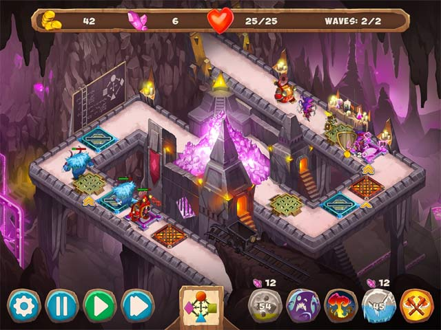Spiele Screenshot 3 Gnumz 2: Arcane Power