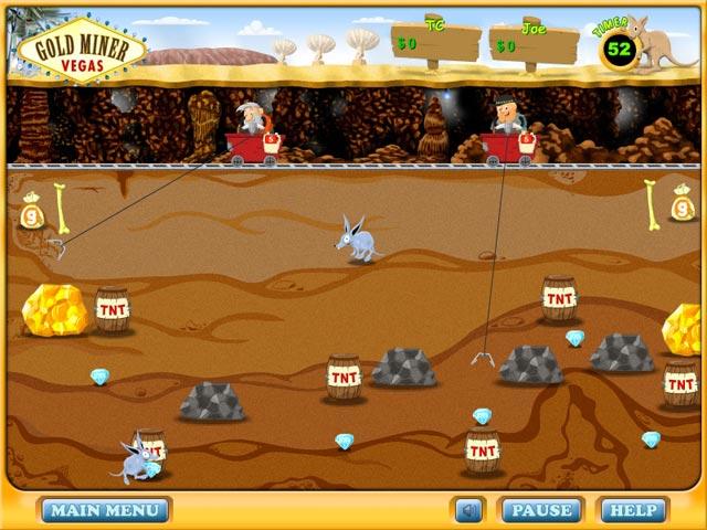 gold miner 2 spieler