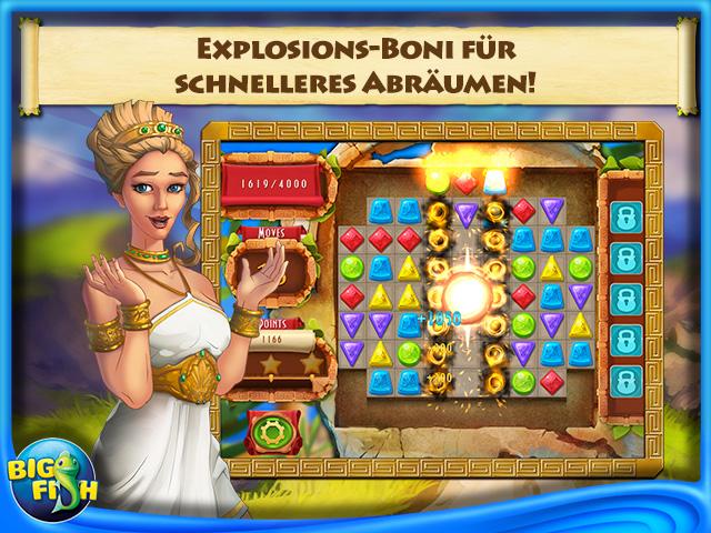 Screenshot für Die Juwelen des Olymps