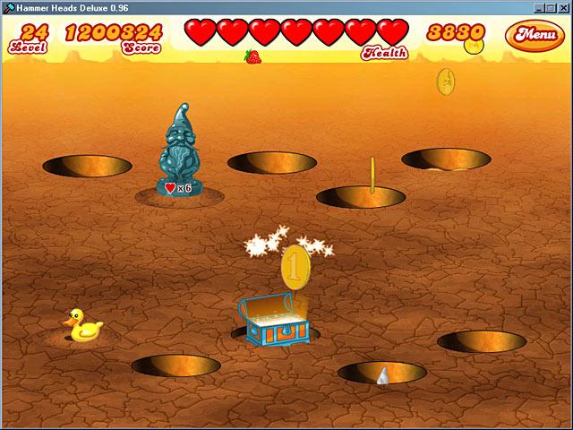 Spiele Screenshot 3 Hammer Heads Deluxe