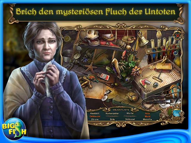 Screenshot für Haunted Legends: Der Bestatter Sammleredition