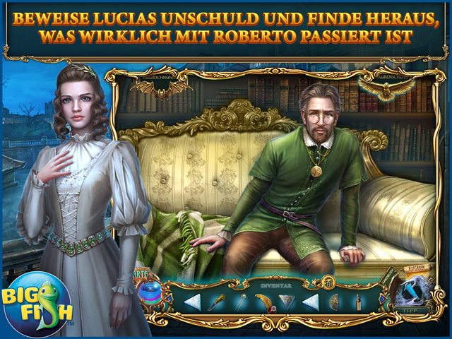 Screenshot für Haunted Legends: Dunkle Wünsche Sammleredition