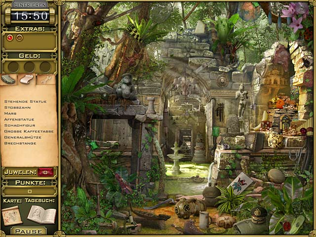 Spiele Screenshot 1 Jewel Quest Mysteries: Trail of the Midnight Heart