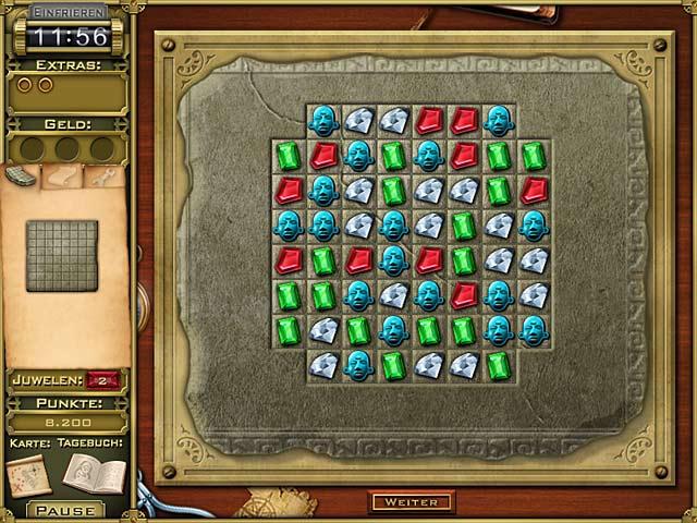 Spiele Screenshot 2 Jewel Quest Mysteries: Trail of the Midnight Heart