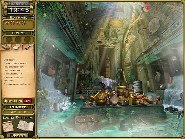 Spiele Screenshot 3 Jewel Quest Mysteries: Trail of the Midnight Heart