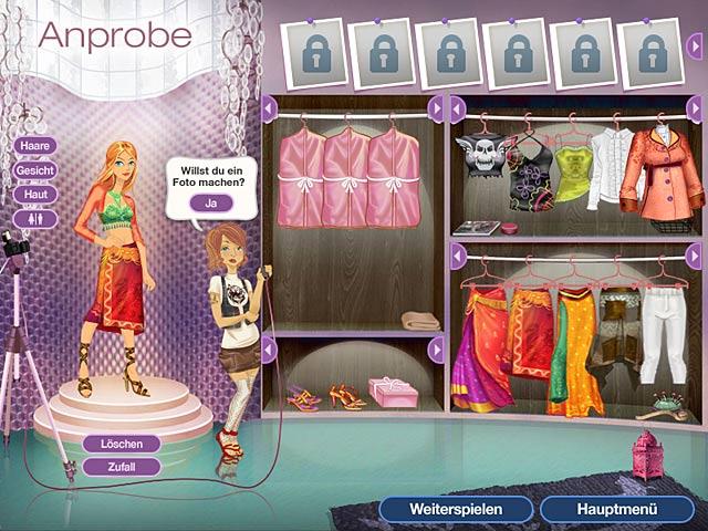 Spiele Screenshot 2 Jojo's Fashion Show 2