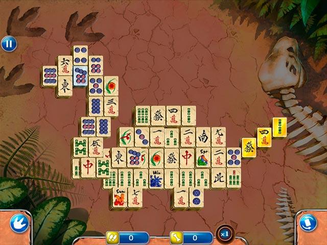 Spiele Screenshot 1 Jurassic Mahjong