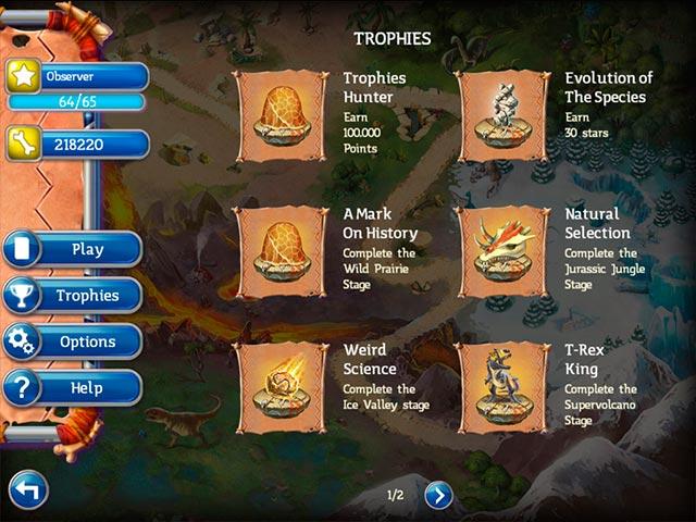 Spiele Screenshot 2 Jurassic Mahjong