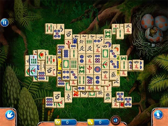 Spiele Screenshot 3 Jurassic Mahjong