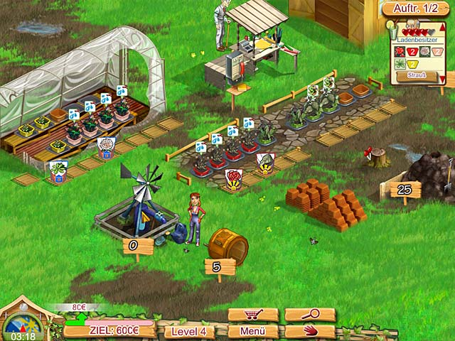 Spiele Screenshot 1 Kelly Green Garden Queen