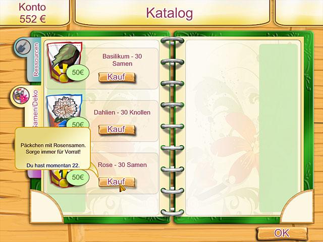 Spiele Screenshot 3 Kelly Green Garden Queen