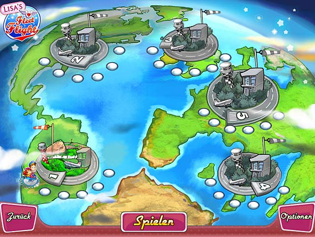 Spiele Screenshot 3 Lisa's Fleet Flight