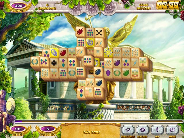 Spiele Screenshot 1 Mahjong Mysteries: Ancient Athena