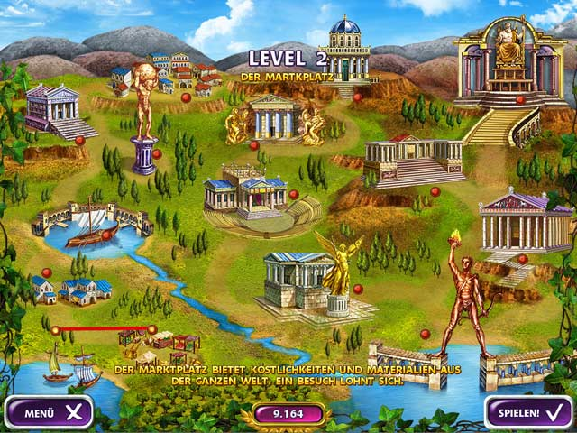 Spiele Screenshot 2 Mahjong Mysteries: Ancient Athena