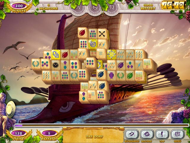 Spiele Screenshot 3 Mahjong Mysteries: Ancient Athena