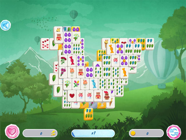 Mahjong Valentine's Day img