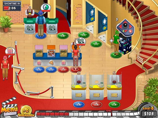 Spiele Screenshot 1 Megaplex Madness: Now Playing