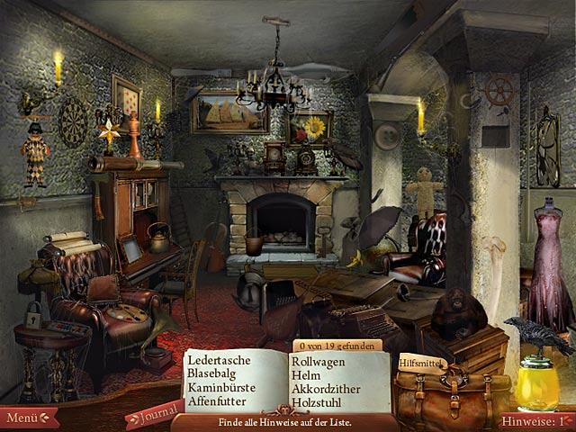 Spiele Screenshot 1 Midnight Mysteries: The Edgar Allan Poe Conspiracy