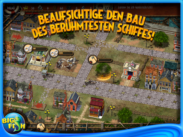 Screenshot für Monument Builders: Titanic
