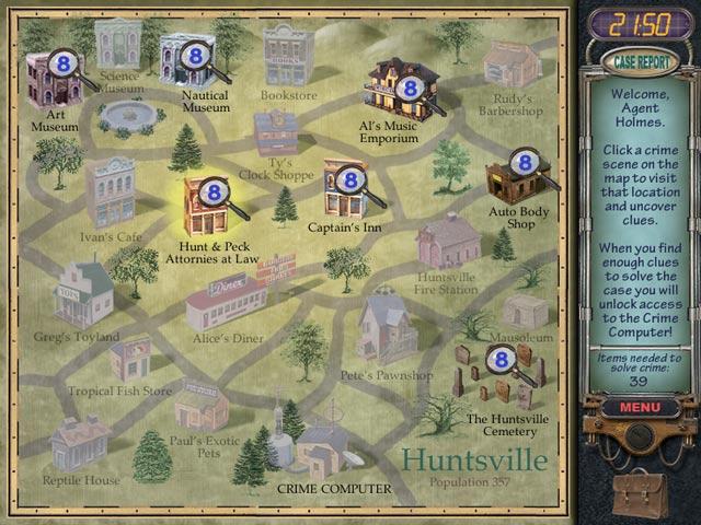 Spiele Screenshot 3 Mystery Case Files: Huntsville