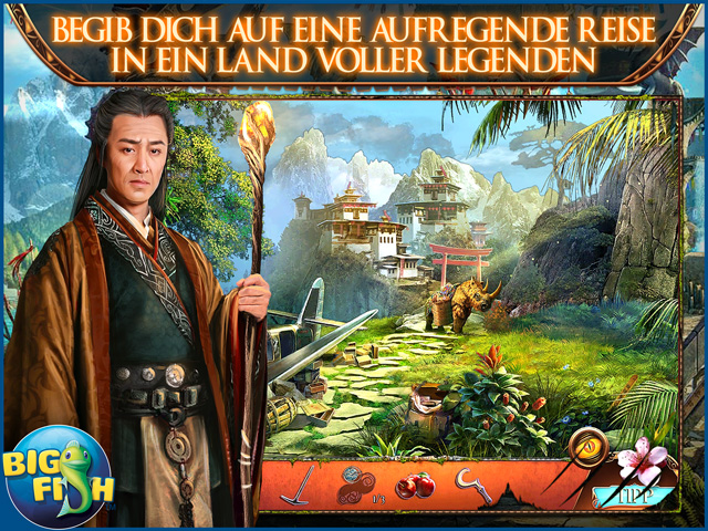Screenshot für Myths of the World: Das Goldene Herz Sammleredition