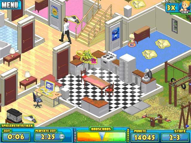 Spiele Screenshot 1 Nanny Mania