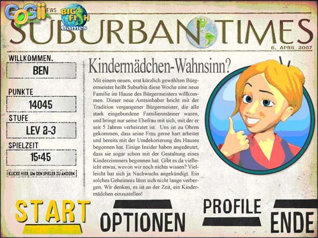 Spiele Screenshot 2 Nanny Mania
