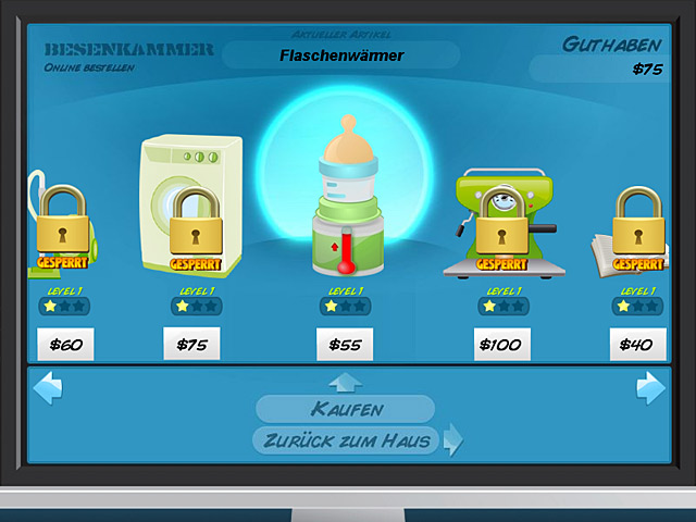 Spiele Screenshot 3 Nanny Mania