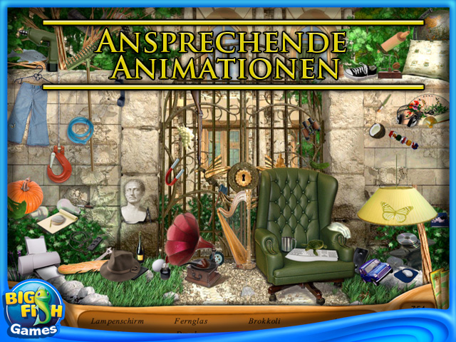 Screenshot für Natalie Brooks: Secrets of Treasure House