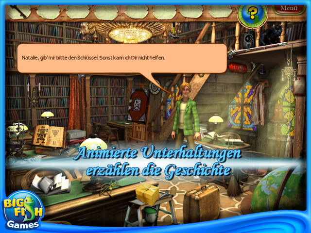 Screenshot für Natalie Brooks: The Treasures of the Lost Kingdom