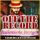 Off the Record: Italienische Intrigen Sammleredition