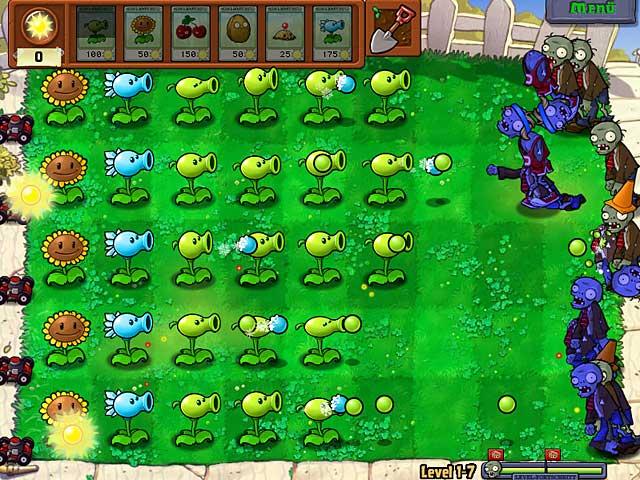 zombi gegen pflanzen spiele