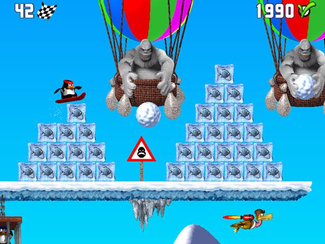 Spiele Screenshot 1 Pinguin versus Yeti