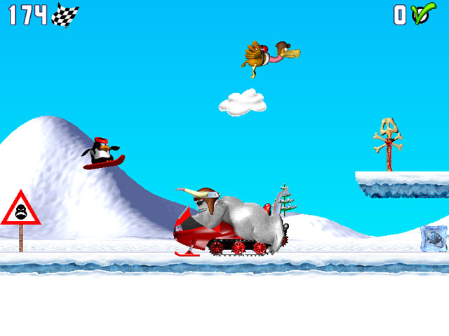 Spiele Screenshot 2 Pinguin versus Yeti