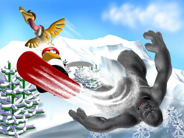 Spiele Screenshot 3 Pinguin versus Yeti