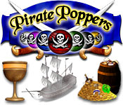 Feature- Screenshot Spiel Pirate Poppers
