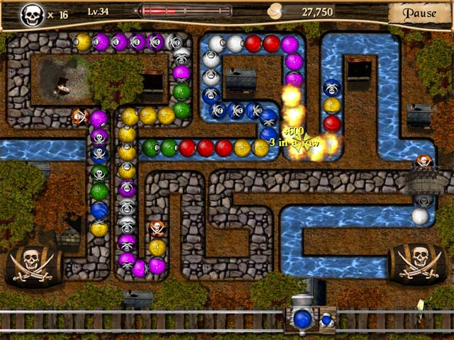 Spiele Screenshot 3 Pirate Poppers