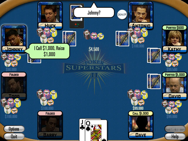 Spiele Screenshot 2 Poker Superstars II
