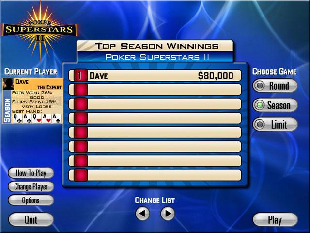 Spiele Screenshot 3 Poker Superstars II