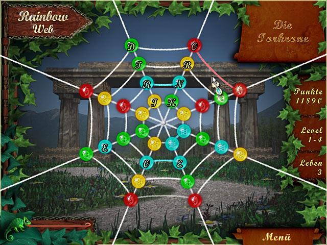 Spiele Screenshot 1 Rainbow Web