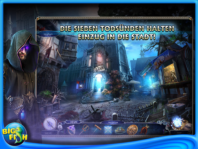 Screenshot für Riddles of Fate: Inferno der Laster Sammleredition