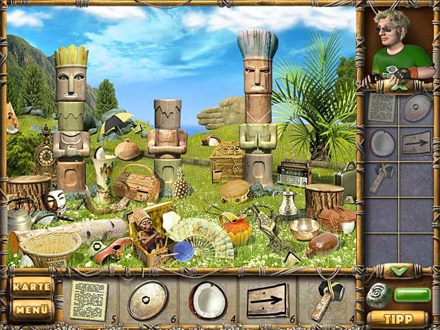 Spiele Screenshot 1 Schätze der geheimnisvollen Insel