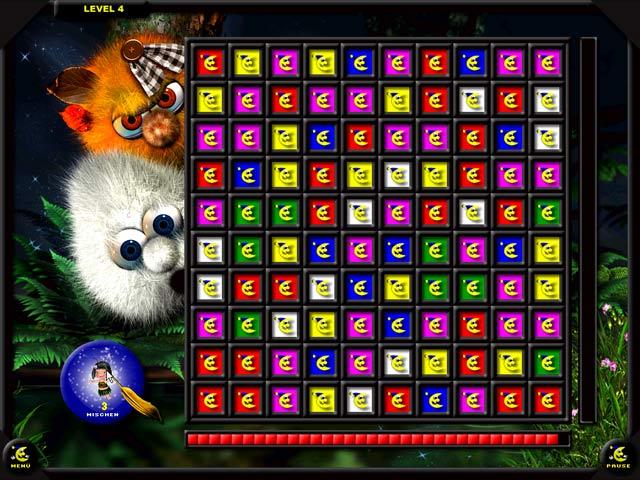 Spiele Screenshot 2 Schlumpiwutz Magixx