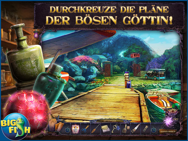 Screenshot für Secrets of the Dark: Die Schattenblume