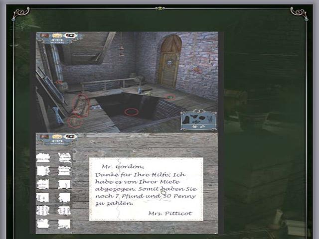 Spiele Screenshot 1 Sherlock Holmes: Das Geheimnis des persischen Teppichs Handbuch
