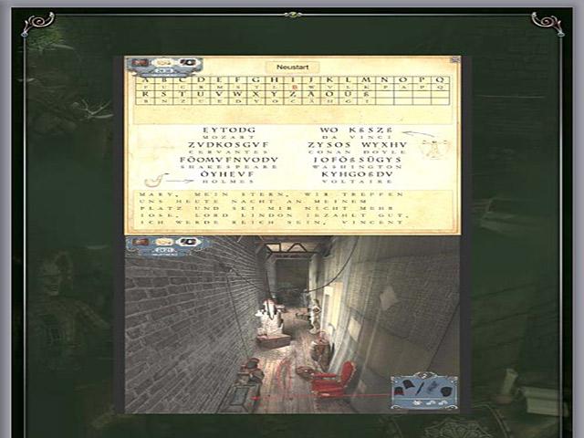 Spiele Screenshot 3 Sherlock Holmes: Das Geheimnis des persischen Teppichs Handbuch