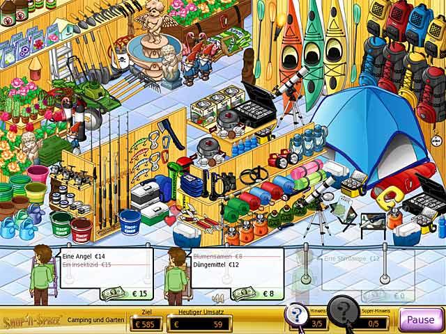 Spiele Screenshot 1 Shop-n-Spree