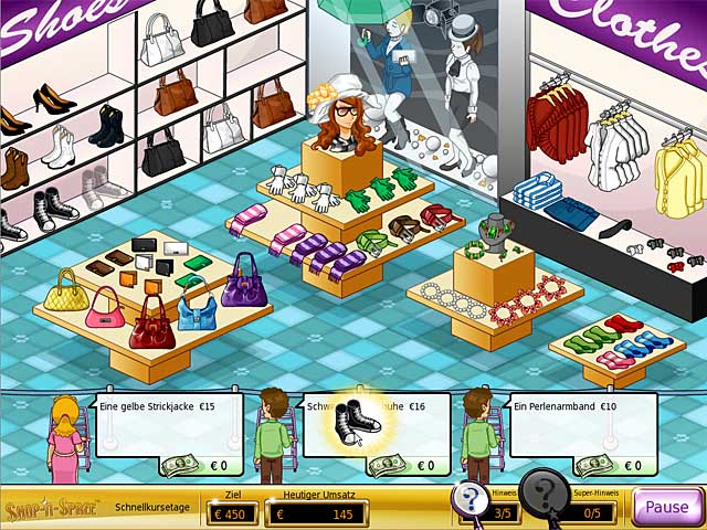 Spiele Screenshot 2 Shop-n-Spree