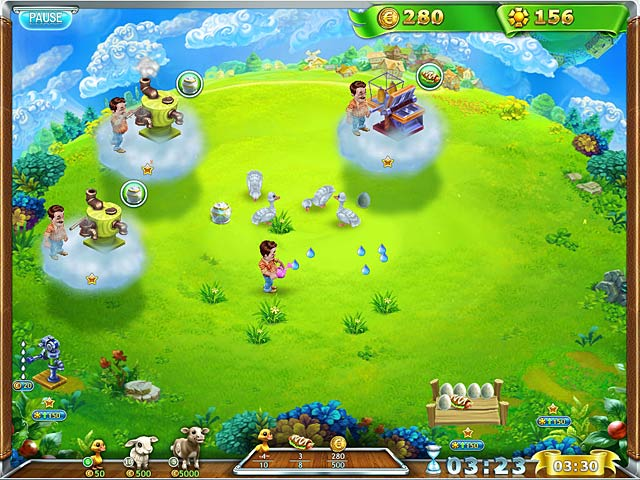 Spiele Screenshot 3 Snow Globe: Farm World